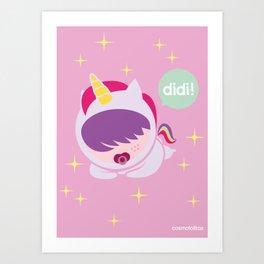 DIDI Art Print