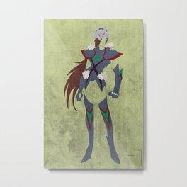 Haruto Wolf Metal Print