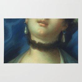 Francois Boucher - Portrait Of A Woman Rug