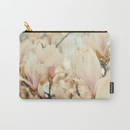 Magnolia and Cream Carry-All Pouch