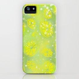 Lemon Summer iPhone Case