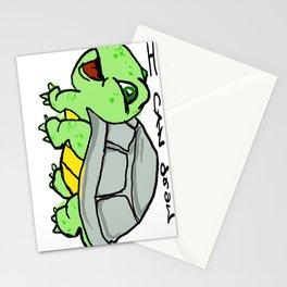 childish turtle  Stationery Cards