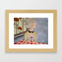* SO LONELY * Framed Art Print