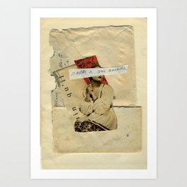 Cartas a mi amada Art Print