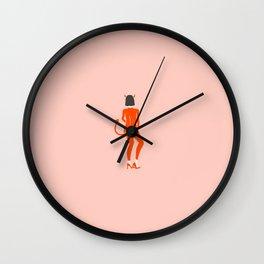 Inktober Day 12 - Devil Wall Clock