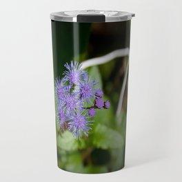 Purple Wildflower Travel Mug
