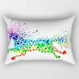 Unicorn - Licorne - Unicornio - Einhorn 02 Rectangular Pillow