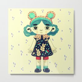 Rome little doll Metal Print