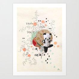 viento oso Art Print