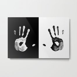 my hands Metal Print
