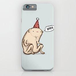Honest Blob - Woo iPhone Case