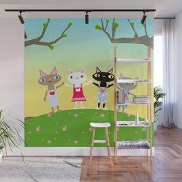 Issho Wall Mural