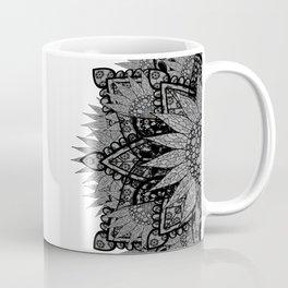 'Zentopia' Black & White Mandalas Coffee Mug