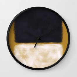 Rothko Inspired #10 Wall Clock