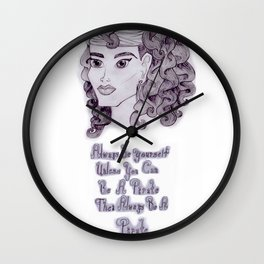 Always be a Pirate Wall Clock