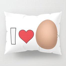 I LoveEgg Pillow Sham