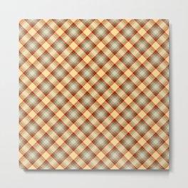 Scottish tartan #1 Metal Print