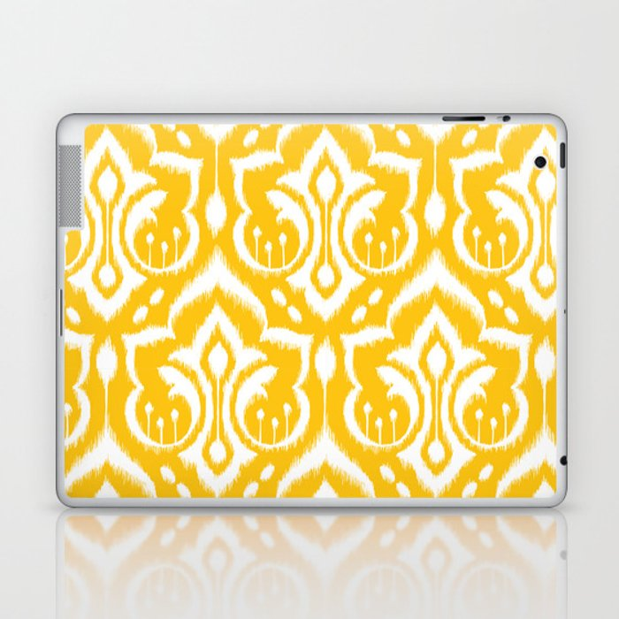 Ikat Damask Laptop & iPad Skin