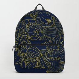 Daffodils by Night Backpack