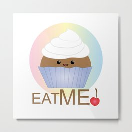 Cupcake Dream Metal Print