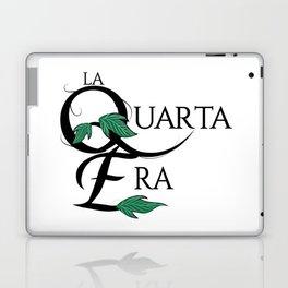 LaQuartaEra_White Laptop & iPad Skin
