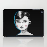 hepburn iPad Cases featuring Audrey Hepburn by Maripili