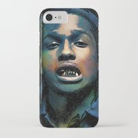 asap rocky iPhone & iPod Cases featuring Asap, long live Rocky by Michaëlis Moshe