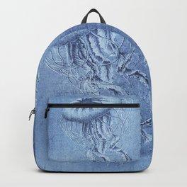 Blue Jellyfish Underwater Magic Backpack