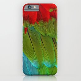 Catalina Macaw Feathers iPhone Case