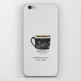 I Like Big Cups iPhone Skin
