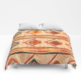 Southwestern Motif in Beige Comforters