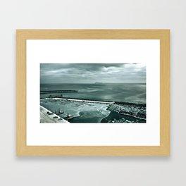 -Îles d'hiver- Framed Art Print