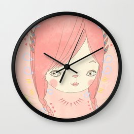 소녀 THIS GIRL Wall Clock