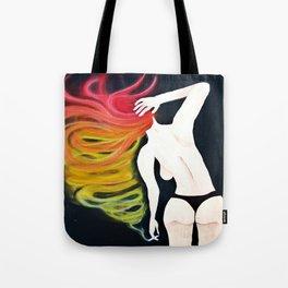 Wake N' Bake, Smoking Lady Series Tote Bag