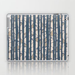 Into The Woods blue cream Laptop & iPad Skin