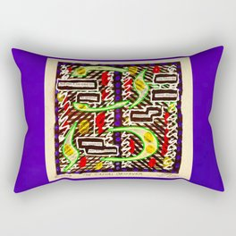The Casual Observer Rectangular Pillow