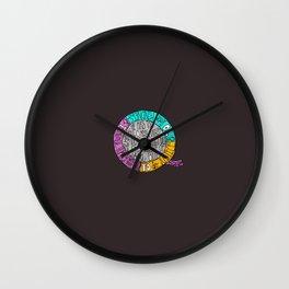 Kindness, Justice & Humility Wall Clock