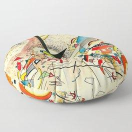 Kandinsky - untitled Floor Pillow