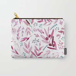 Eucalyptus Pink Carry-All Pouch