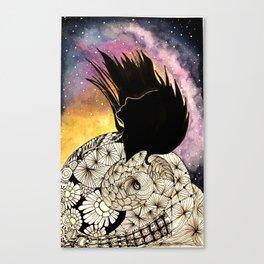 SPIRALS OF LIFE Canvas Print