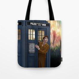 10th Doctor Shockface Tote Bag