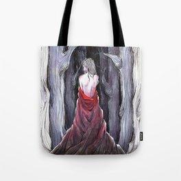 Meet Me in the Woods Tote Bag
