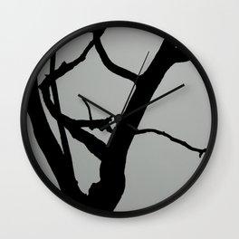 TREE ON JOANNA BALD Wall Clock