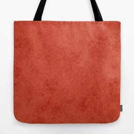 Orange suede Tote Bag