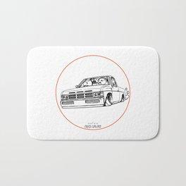 Crazy Car Art 0207 Bath Mat