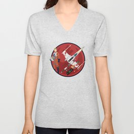 X-WING dissect #2 Unisex V-Neck
