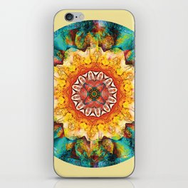 Mandalas from the Heart of Surrender 4 iPhone Skin
