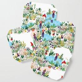 Paradise Print Coaster