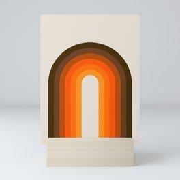 Golden Rainbow Mini Art Print