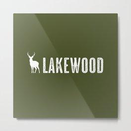 Deer: Lakewood, Colorado Metal Print